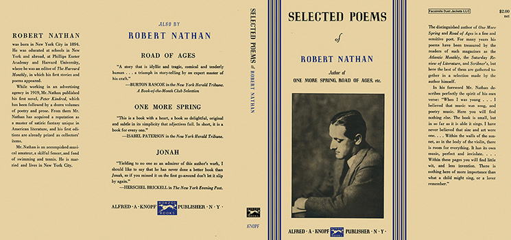 Selected Poems of Robert Nathan. Robert Nathan