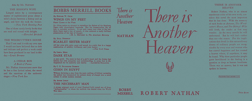 There Is Another Heaven. Robert Nathan.