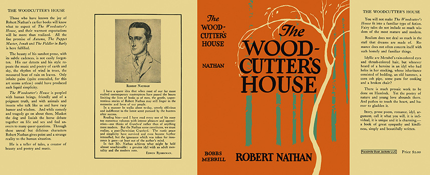 Woodcutter's House, The. Robert Nathan.
