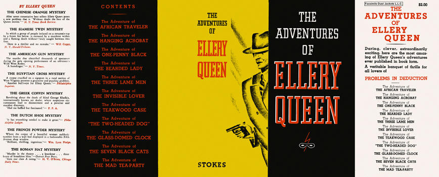 Adventures of Ellery Queen, The. Ellery Queen