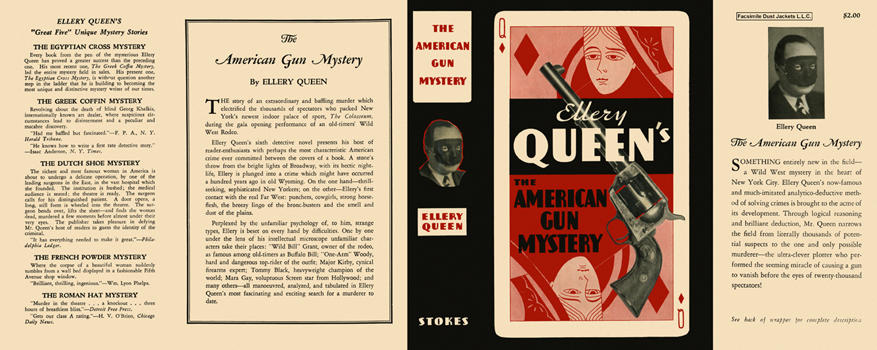 American Gun Mystery, The. Ellery Queen