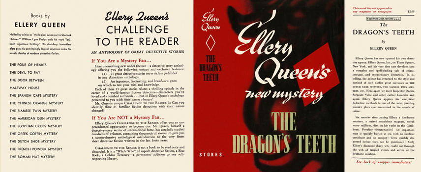 Dragon's Teeth, The. Ellery Queen