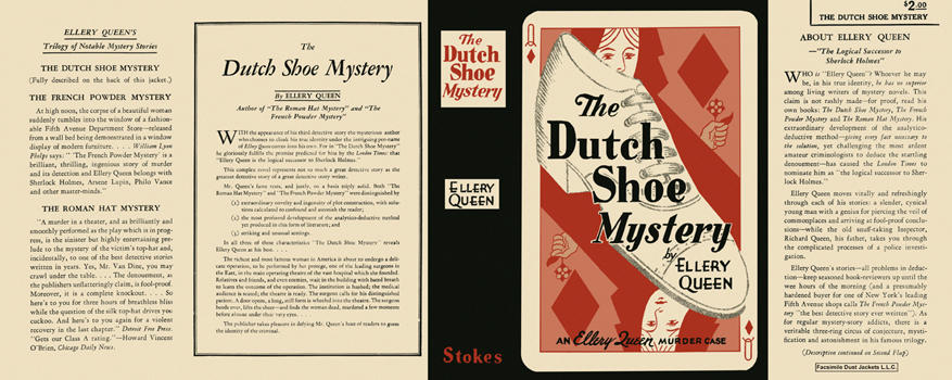 Dutch Shoe Mystery, The. Ellery Queen