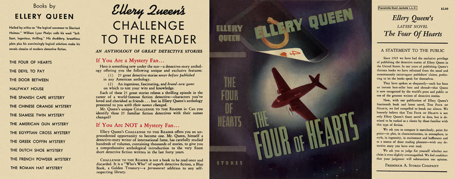 Four of Hearts, The. Ellery Queen