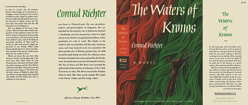 Waters of Kronos, The. Conrad Richter