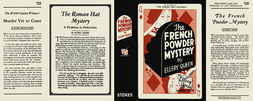 French Powder Mystery, The. Ellery Queen