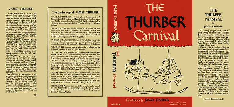 Thurber Carnival, The. James Thurber.