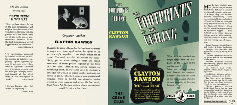Footprints on the Ceiling, The. Clayton Rawson.