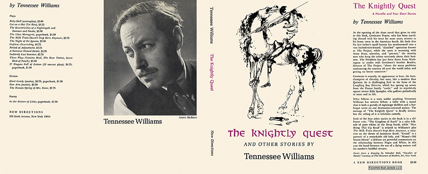 Knightly Quest and Other Stories, The. Tennessee Williams.