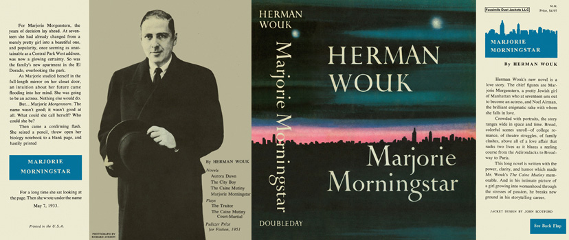 Marjorie Morningstar. Herman Wouk.