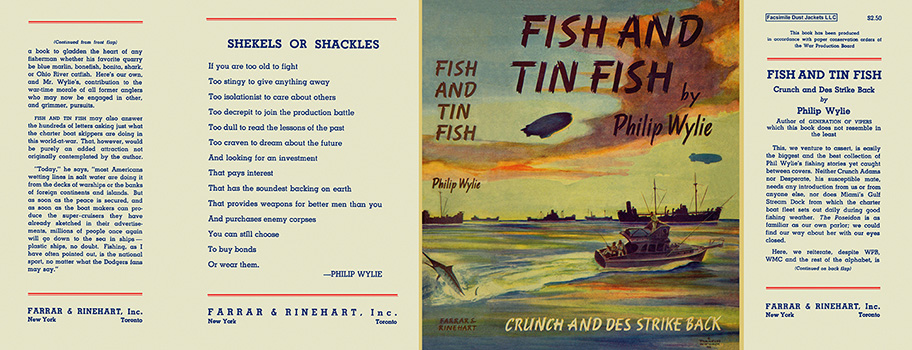 Fish and Tin Fish. Philip Wylie.