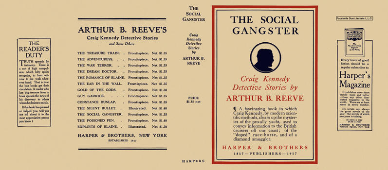 Social Gangster, The. Arthur B. Reeve.