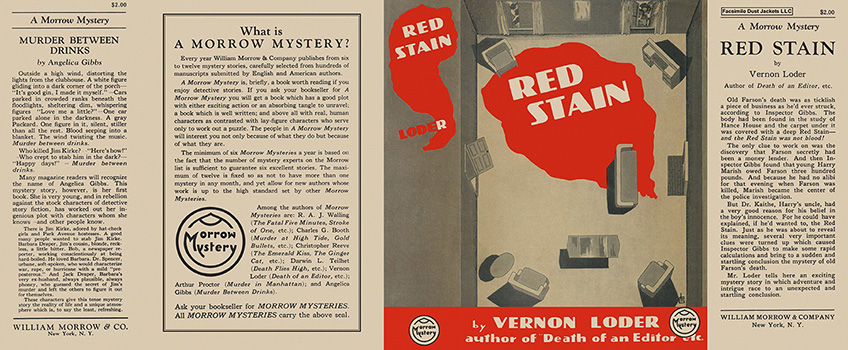 Red Stain. Vernon Loder