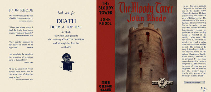 Bloody Tower, The. John Rhode