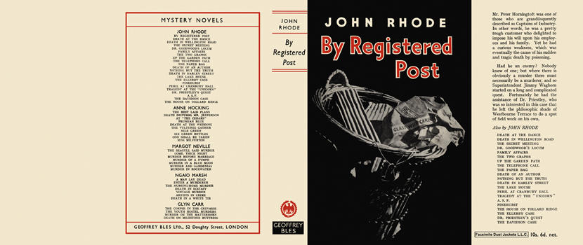 By Registered Post. John Rhode