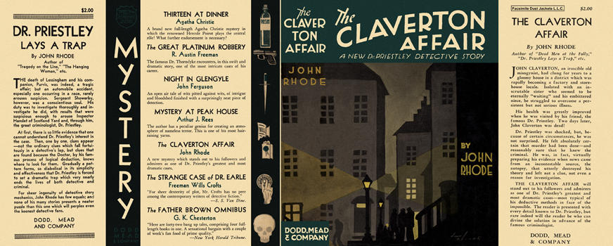 Claverton Affair, The. John Rhode