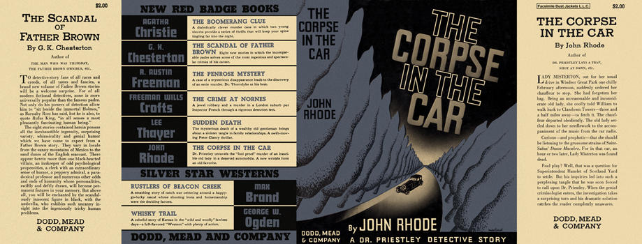 Corpse in the Car, The. John Rhode
