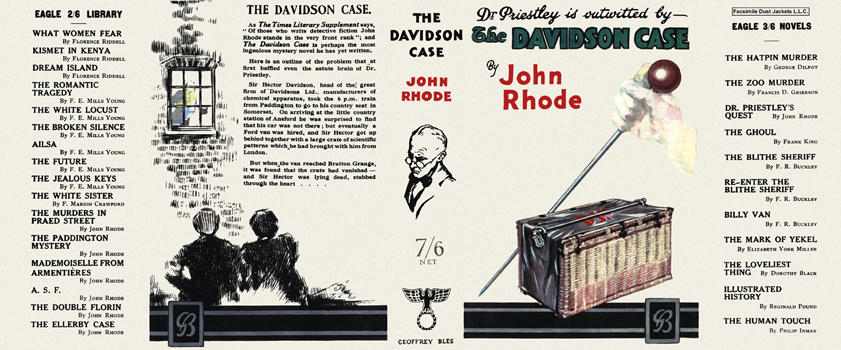 Davidson Case, The. John Rhode
