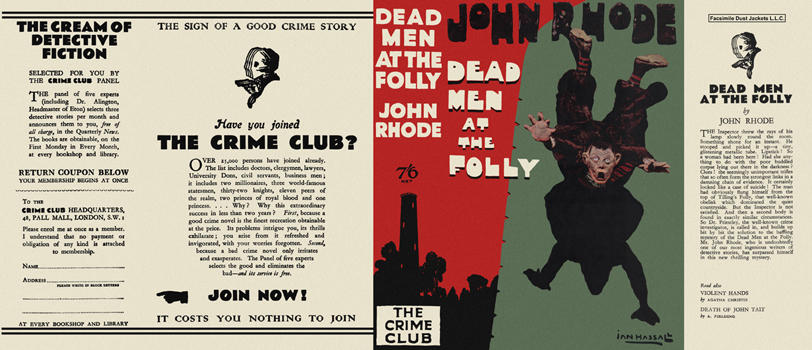 Dead Men at the Folly. John Rhode