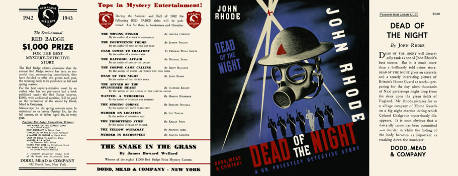 Dead of the Night. John Rhode