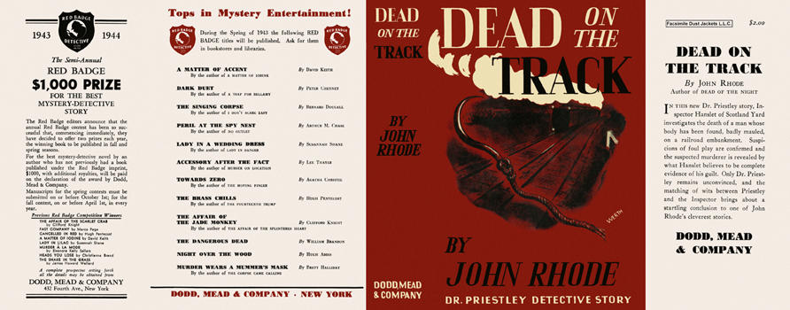 Dead on the Track. John Rhode