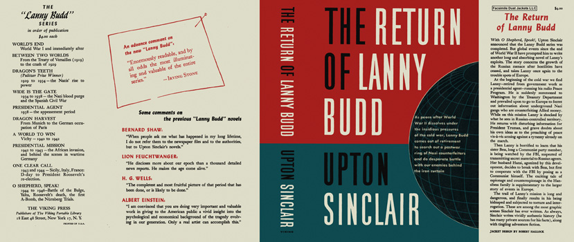Return of Lanny Budd, The. Upton Sinclair.