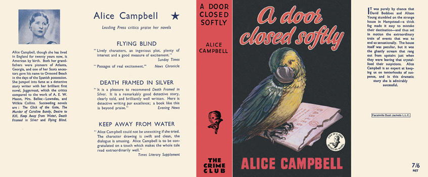 Door Closed Softly, A. Alice Campbell