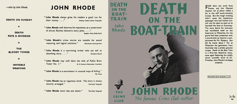 Death on the Boat-Train. John Rhode.
