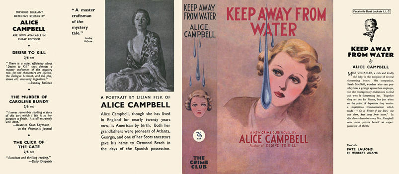 Keep Away from Water. Alice Campbell