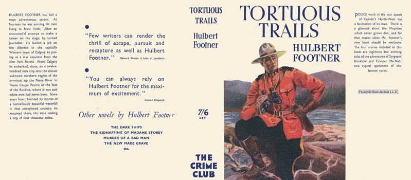 Tortuous Trails. Hulbert Footner.
