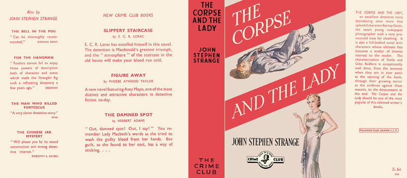 Corpse and the Lady, The. John Stephen Strange