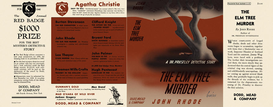 Elm Tree Murder, The. John Rhode