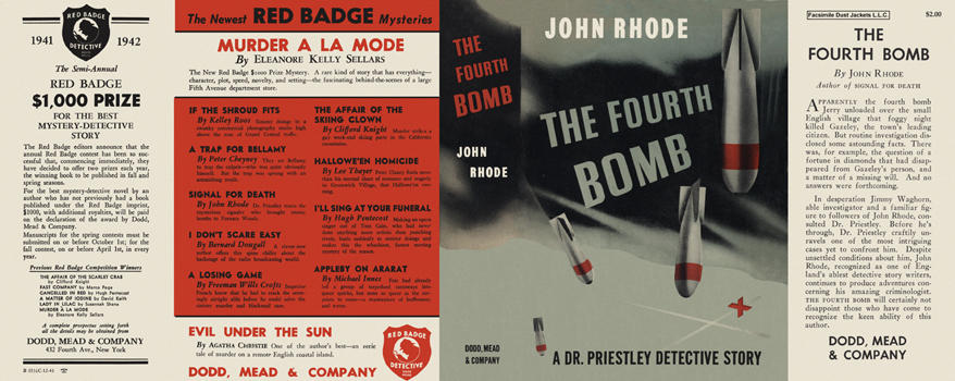 Fourth Bomb, The. John Rhode