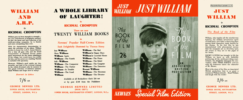 Just William, The Book of the Film. Richmal Crompton