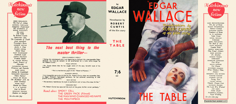Table, The. Edgar Wallace, Robert Curtis.