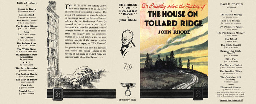 House on Tollard Ridge, The. John Rhode