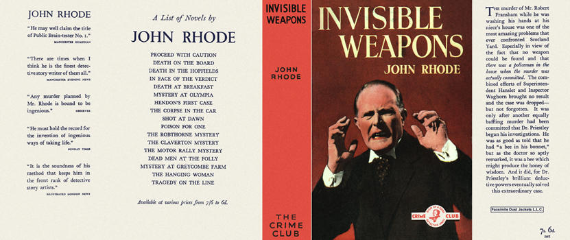 Invisible Weapons. John Rhode