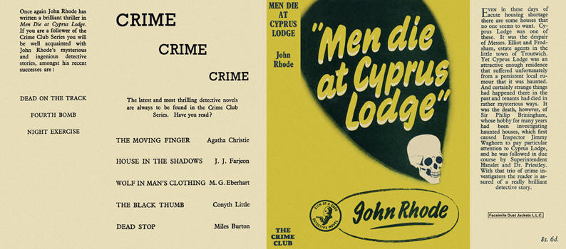 Men Die at Cyprus Lodge. John Rhode