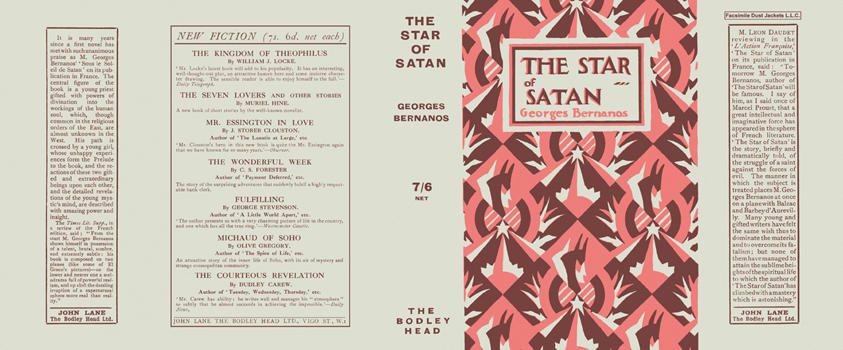 Star of Satan, The. Georges Bernanos
