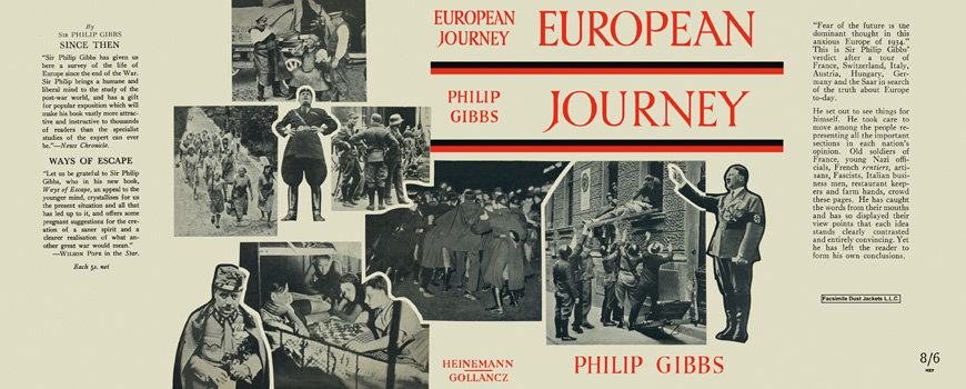 European Journey. Philip Gibbs.