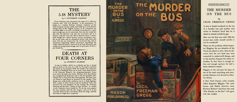 Murder on the Bus, The. Cecil Freeman Gregg.