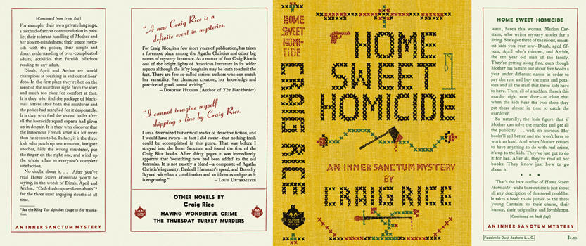 Home Sweet Homicide. Craig Rice