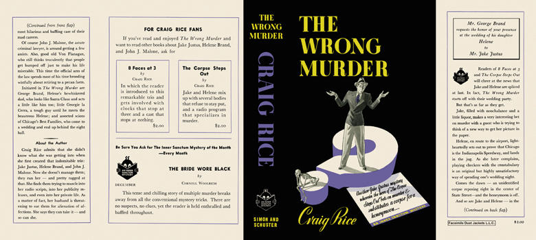 Wrong Murder, The. Craig Rice.