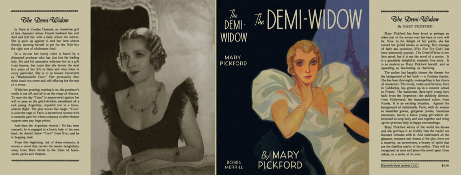 Demi-Widow, The. Mary Pickford