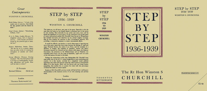 Step by Step, 1936-1939. Winston S. Churchill