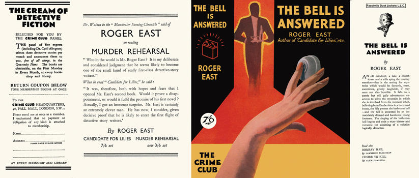 Bell Is Answered, The. Roger East