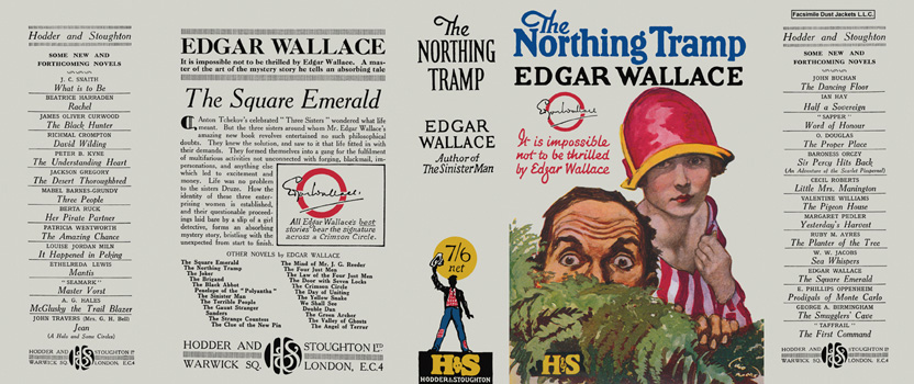 Northing Tramp, The. Edgar Wallace.