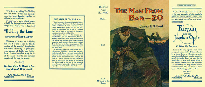 Man from Bar-20, The. Clarence E. Mulford