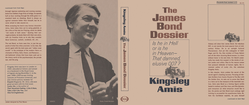 James Bond Dossier, The. Kingsley Amis