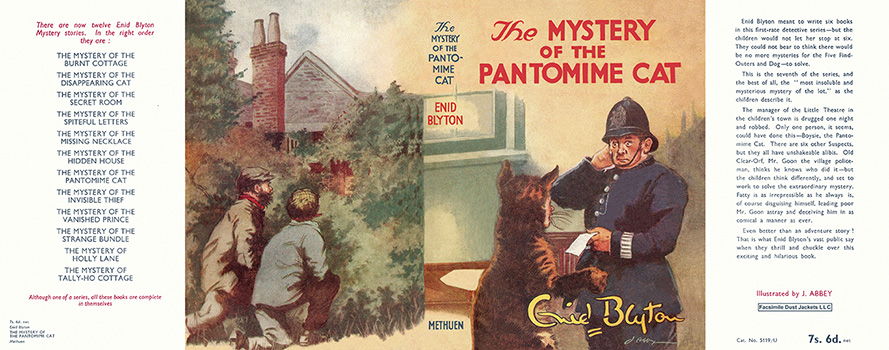 Mystery of the Pantomime Cat, The. Enid Blyton, J. Abbey.